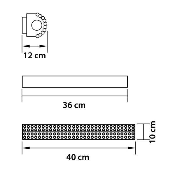 Светильник настенный — 704632 — Osgona — Мощность 1*18W