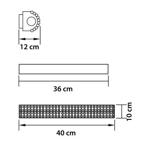 Светильник настенный — 704634 — Osgona — Мощность 1*18W