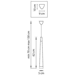 Подвес — 807017 — Lightstar — Мощность 1*6W