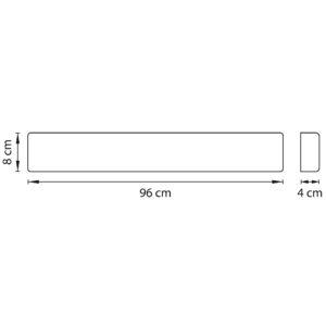 Бра — 810538 — Lightstar — Мощность 1*30W