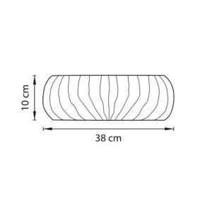 Плафон потолочный — 820340 — Lightstar — Мощность 1*24W