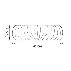 Плафон потолочный — 820360 — Lightstar — Мощность 1*36W