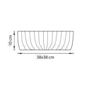 Плафон потолочный — 820440 — Lightstar — Мощность 1*24W