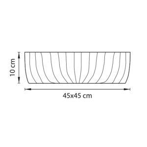 Плафон потолочный — 820460 — Lightstar — Мощность 1*36W