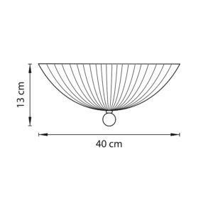 Плафон потолочный — 820830 — Lightstar — Мощность 1*18W