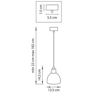 Подвес — 865017 — Lightstar — Мощность 1*6W