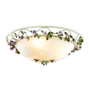 Фото Настенно-потолочный светильник - 2796/3C в стиле Флористика