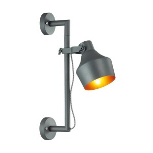 Фото Настенный светильник на кронштейне - 4082/1WA в стиле Техно