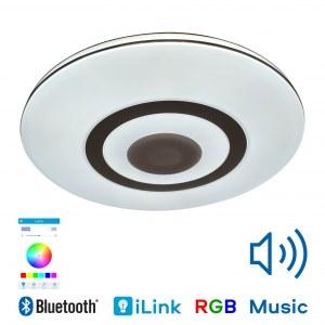 Музыкальная люстра светильник CY181-503 Aiden — RGB