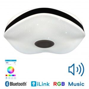 Музыкальная люстра светильник CY181-526 Aiden — RGB