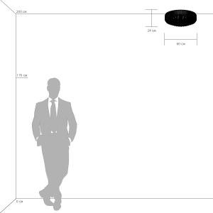 Люстра потолочная — 713154 — Osgona — Мощность *90W
