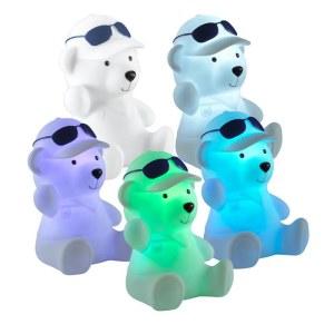 Детский настольный светодиодный светильник-ночник (с выключателем) с эффектом плавной смены цвета-357339-foto