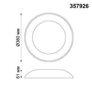 Накладной светодиодный светильник-357926-shema