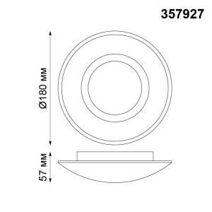 Накладной светодиодный светильник-357927-shema