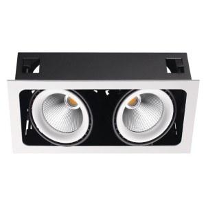 Встраиваемый карданный светодиодный светильник-358038-foto