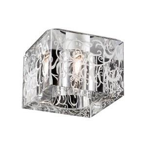 Декоративный встраиваемый неповоротный светильник-369514-foto