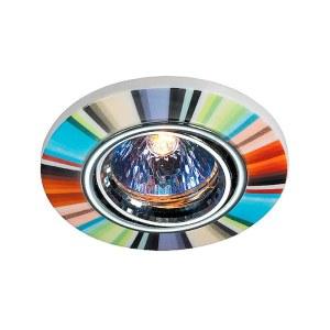 Декоративный встраиваемый поворотный светильник-369552-foto