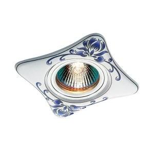 Декоративный встраиваемый светильник-369927-foto