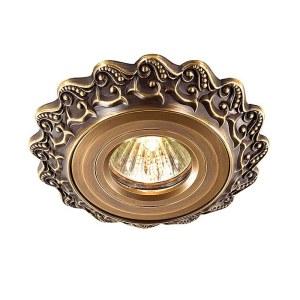 Декоративный встраиваемый светильник-369930-foto