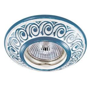 Декоративный встраиваемый светильник-370005-foto