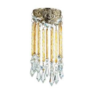 Декоративный встраиваемый светильник-370057-foto