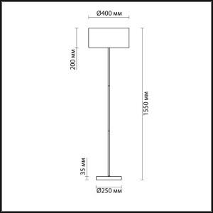Торшер — 3745/2F — LUMION — Мощность