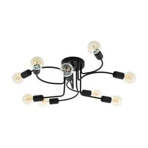 Настенно-потолочный светильник — 97983 — EGLO — E27, 9X40W