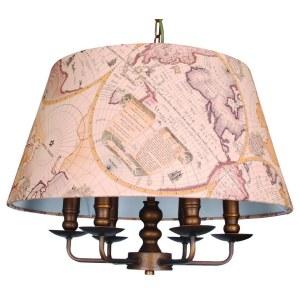 Фото 1 Подвесной светильник 1122-6P в стиле классический