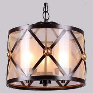 Фото 1 Подвесной светильник 1145-3P в стиле классический