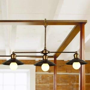 Фото 1 Подвесной светильник 1214-3P1 в стиле классический