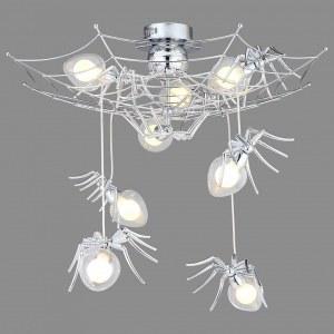 Фото 1 Подвесной светильник 1308/02 PL-8 в стиле модерн