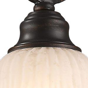Фото 2 Подвесной светильник 1466-1P в стиле флористика