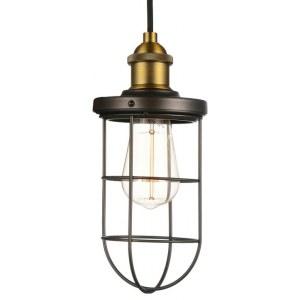 Фото 1 Подвесной светильник 1589-1P в стиле техно
