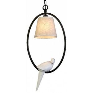 Фото 1 Подвесной светильник 1594-1P в стиле флористика