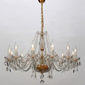Фото 2 Подвесная люстра 1735-12P в стиле классический