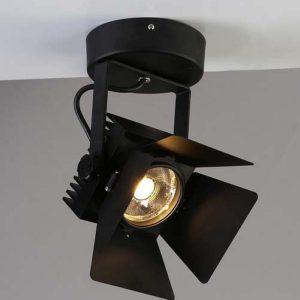 Фото 2 Настенно-потолочный прожектор 1770-1U в стиле техно