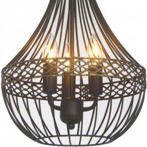 Детальное фото 3 Подвесной светильник 1800-3P в стиле техно