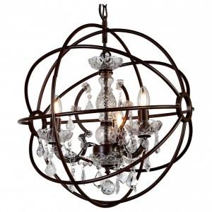 Фото 1 Подвесная люстра 1834-3P в стиле классический