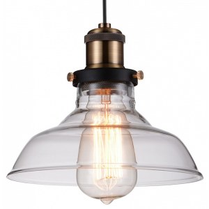 Фото 1 Подвесной светильник 1876-1P в стиле техно