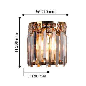 Детальное фото 2 Накладной светильник 1971-1W в стиле модерн