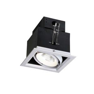Фото 2 Встраиваемый светильник 1985-1C в стиле техно