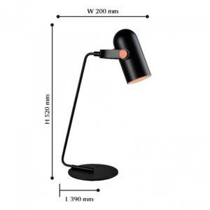 Настольная лампа офисная 2007-1T Favourite