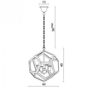 Схема Подвесной светильник 2020/02 SP-4 в стиле модерн