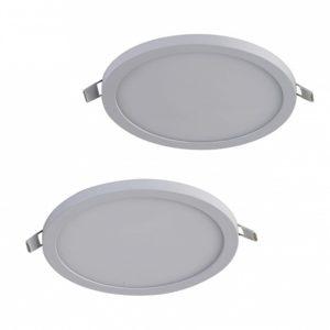 Фото 2 Набор из 2 встраиваемых светильников 2067-2C в стиле техно