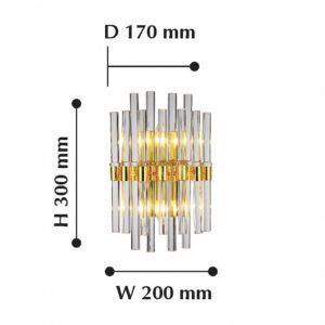 Накладной светильник 2205-2W Favourite