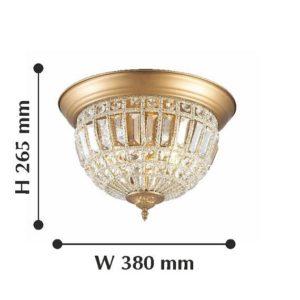 Детальное фото 2 Накладной светильник 2296-3C в стиле модерн