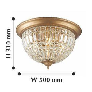 Детальное фото 2 Накладной светильник 2296-6C в стиле модерн