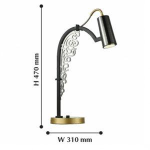 Настольная лампа декоративная 2300-1T Favourite