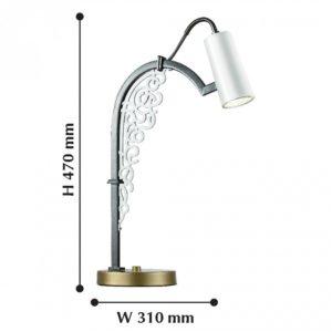 Настольная лампа декоративная 2301-1T Favourite