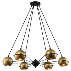Фото 3 Подвесной светильник 2358-6P в стиле лофт